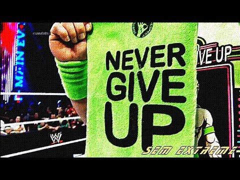 John Cena Metal Sign - WWE US  |John Cena Logo Never Give Up 2014