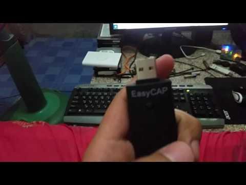 EasyCAP CAPTURE USB 2.0 Video Adapter with Audio [EasyCAP Driver]