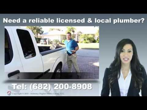 Local Licensed Fort Worth Plumber