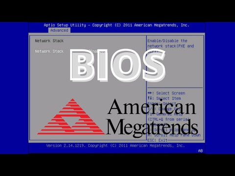 BIOS American Megatrends