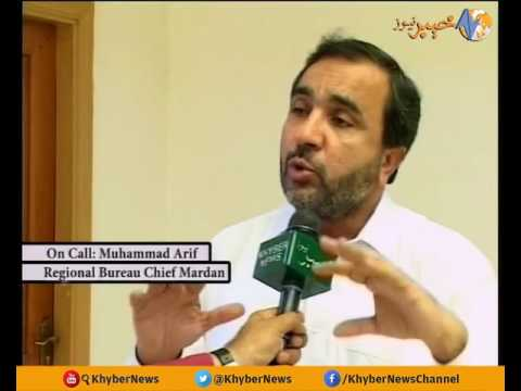 DISTRICT NEWS MARDAN  EP # 81  [ 19 - 10-2016 ] | Khyber News