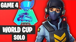 Fortnite World Cup SOLO Game 4 Highlights [Fortnite World Cup Highlights]