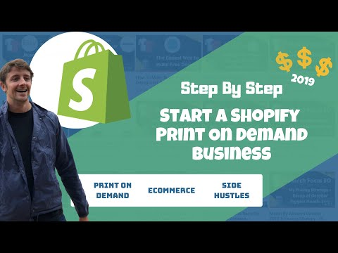 Print On Demand With Shopify Step By Step Start Your Store In Under An Hour thumbnail
