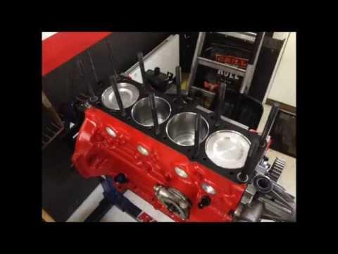 Volvo redblock engine build