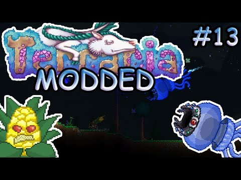 Modded Terraria Ep. 13 | More Boss Battles