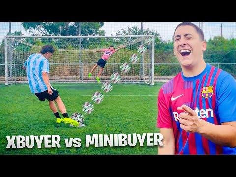 XBUYER vs MINIBUYER ¡PENALTIS de la MU3RT3! *Quien pierda CASTIGO*