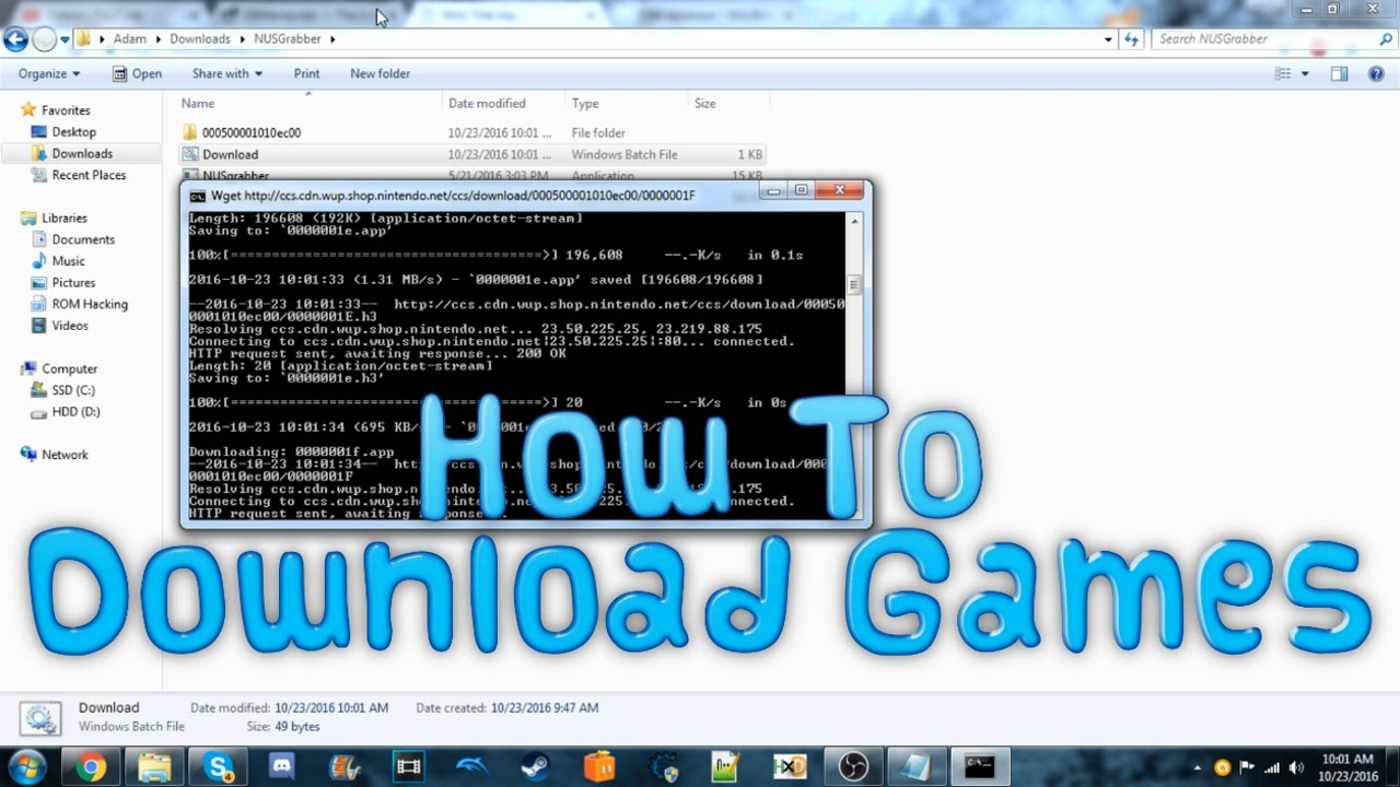 [Wii U] How To Download Games For USB Loading