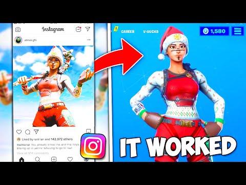 So I Recreated Instagram Concepts In Fortnite..! (Fortnite Custom Skins)