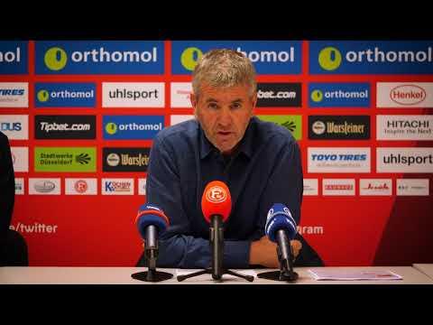 Pressekonferenz vor Dynamo Dresden vs. Fortuna Düsseldorf