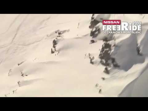 Candide Thovex au Freeride World Tour de Chamonix