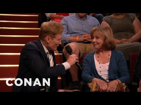 Conan Sings Happy Birthday To A Lucky Audience Member  - CONAN on TBS