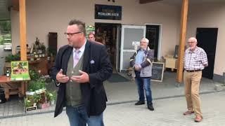 Eröffnung Hofladen Weitersbacher Mühle