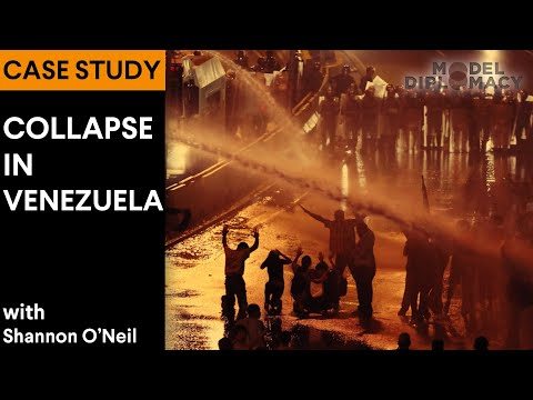 Collapse in Venezuela: A Model Diplomacy Case Study