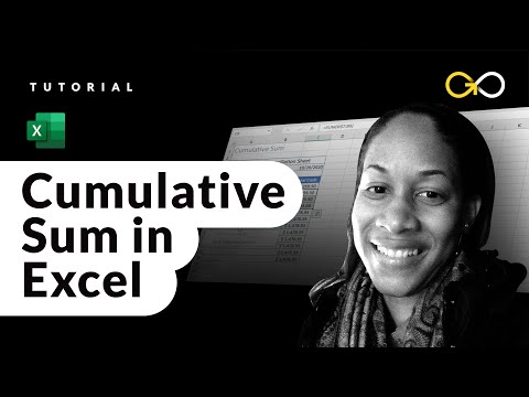How to Create a Running Total in Excel - Cumulative Sum Formula