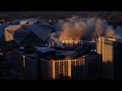 Georgia Dome Reduced to Dust in Seconds in Massive Implosion