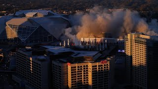 Georgia Dome Reduced to Dust in Seconds in Massive Implosion thumbnail