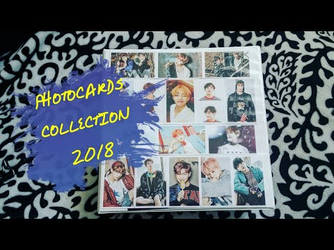 BTS Photocards Collection update 2018