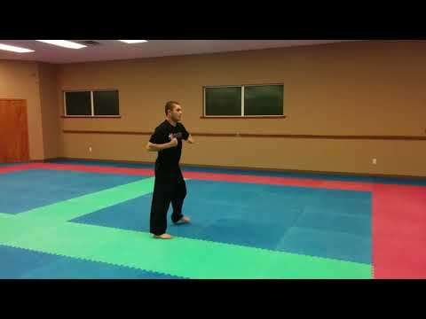 Pacific Kicks Globetrotters Demo Kick Combo