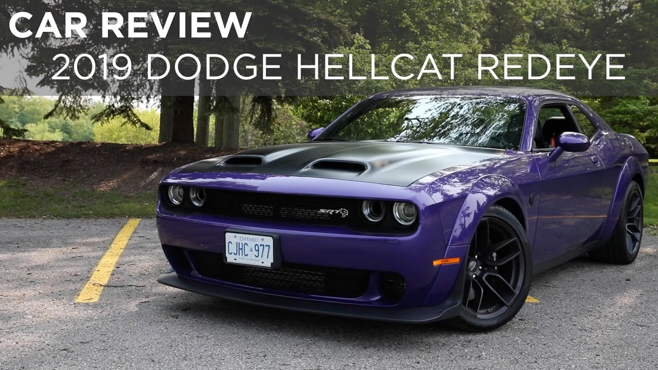 Car Review: 2019 Dodge Challenger Hellcat Redeye | Driving