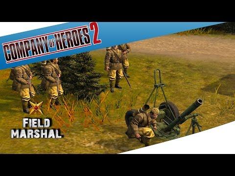 Company of Heroes 2 - Best Mortar, OP Mortar ? |
