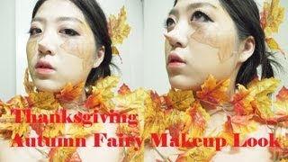 The Beauty Owl: Thanksgiving Autumn Fairy Makeup look Thumbnail