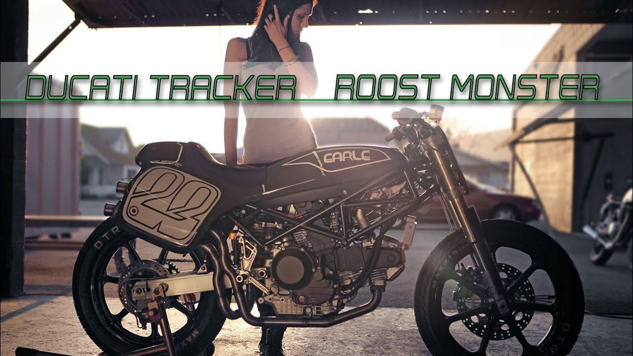 Ducati Tracker Roost Monster