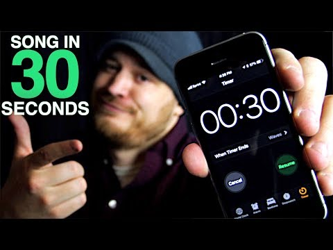 Making a 3 Minute Song... in 30 SECONDS!
