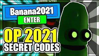 (2021) ALL *NEW* SECRET OP CODES! Banana Eats Roblox