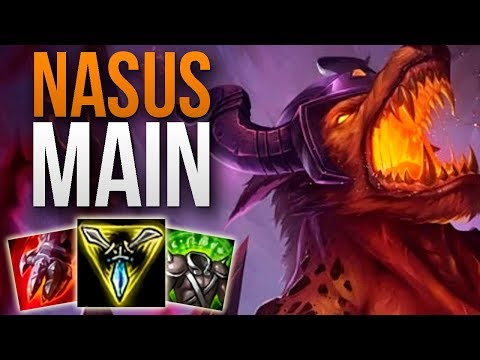 CHALLENGER NASUS MAIN SHOWS YOU HOW TO CARRY | CHALLENGER NASUS TOP GAMEPLAY | Patch 9.15 S9