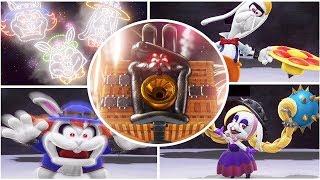 Super Mario Odyssey - All Dark Sides Moon Boss - Gameplay Walkthrough