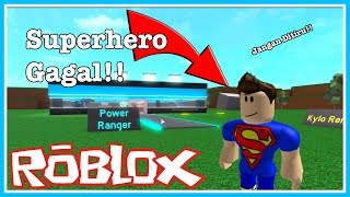 Superhero FAILED!! KDI k | Roblox Indonesia