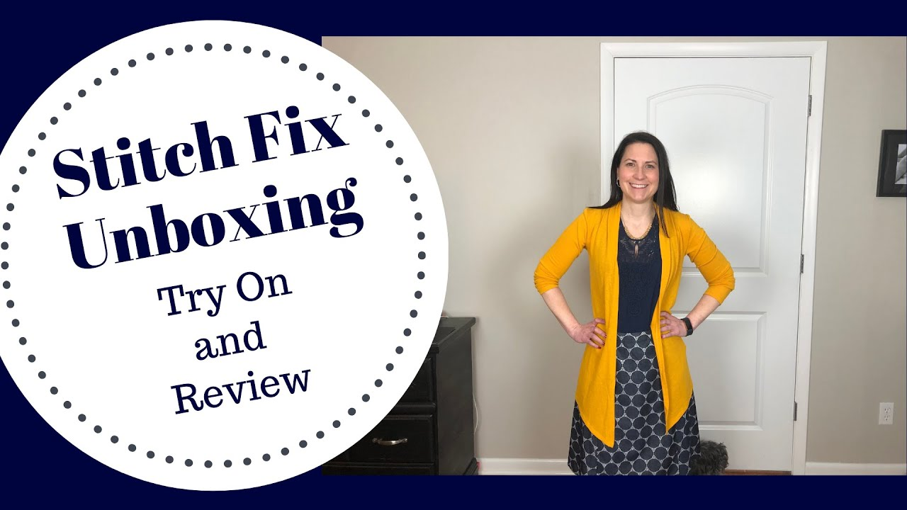 740566236bb Stitch Fix Unboxing, Try On, and Review | April 2019 | 5 for 5! | Online  Styling Service