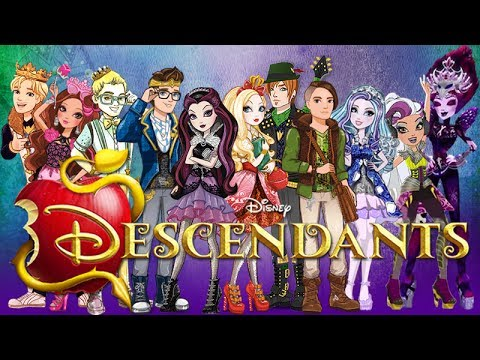 Ever After High Descendants - Be Our Guest