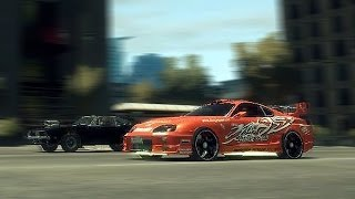 GTA 4 - Fast and Furious Drag Race Scene