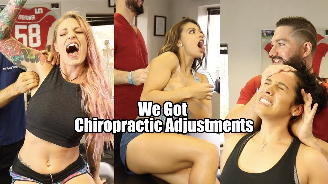 We Got Chiropractic Adjustments | GIRLS CRACK COMPILATION