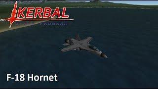 F-18 hornet speedbuild   Kerbal Space Program