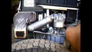 Riding Mower - murray lawnmower how to carb replacement