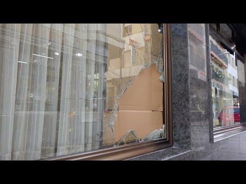 """VÍDEO: Detenido un joven rumano tras ser pillado """"in fraganti"""" mientras robaba en el Bar Jardín"""