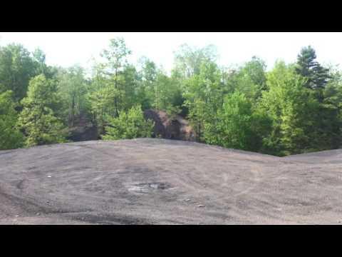 Clearfield PA Polaris RZR tumbles downhill
