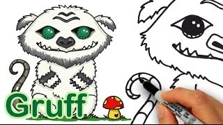 How to Draw GRUFF -Tinker Bell and the Legend of the NeverBeast