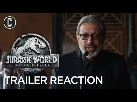Jurassic World: Fallen Kingdom Trailer Reaction & Review