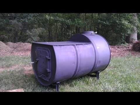 The DIY 55 Gal Cook Top Woodstove | Pt 1 - The DIY 55 Gal Cook Top Woodstove Pt 1 - YouTube