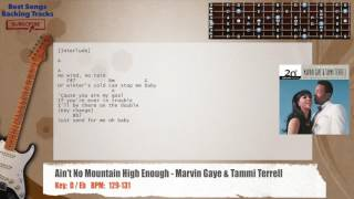 Ain't No Mountain High Enough - Marvin Gaye & Tammi Terrell Guitar Backing Track