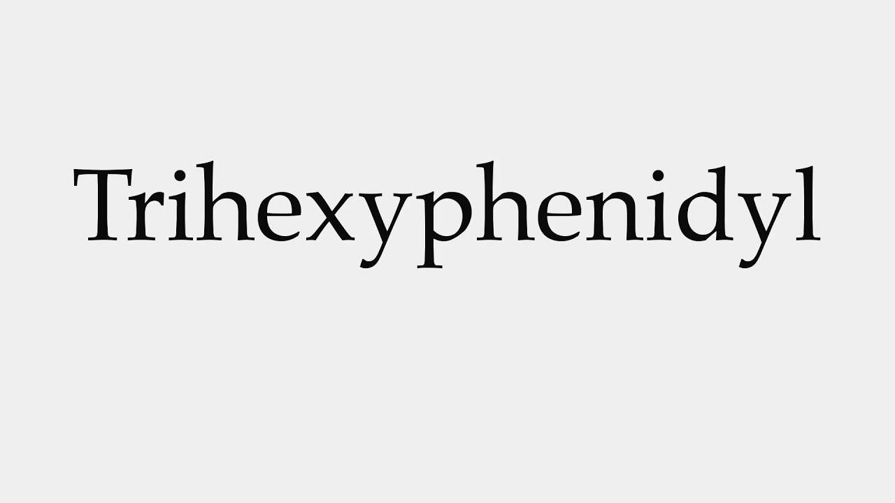 Buy Trihexyphenidyl Uk