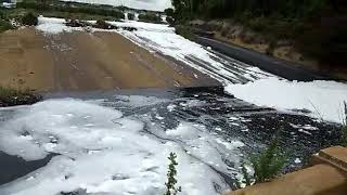 This is the water that flows into the River Cauvery, which we all drink