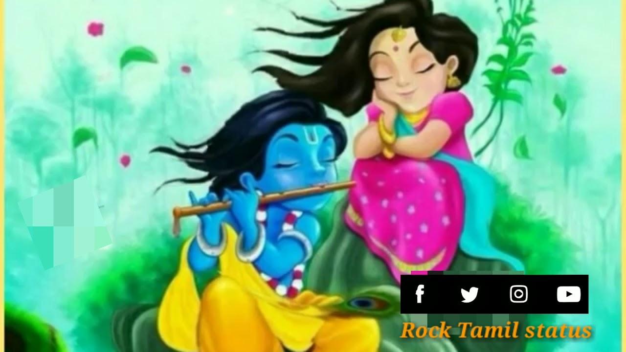 vijay tv serial radha krishna  whatsapp status Tamil love ...