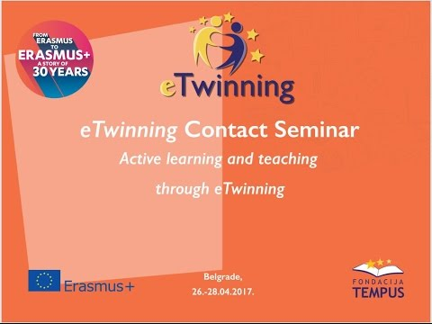 eTwinning contact seminar, Belgrade 2017
