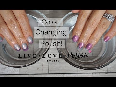 Product Review First Purchase From Live Love Polish Youtube