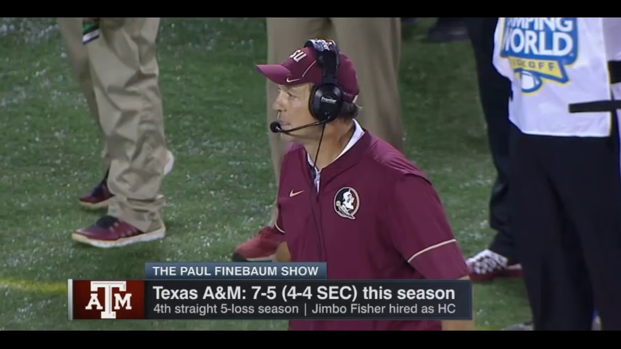 Jimbo Fisher: 'Whatever I Tell You, You Can Take It to the Bank'