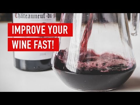 How To Improve Your Wine - Decanting | Wine Basics - Virgin Wines